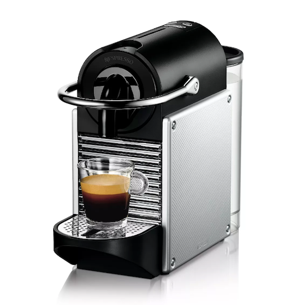 Celebrating Each Other: 1, 5, and 10-Year Anniversary Gifts For Your Spouse | Nespresso Pixie Espresso Machine