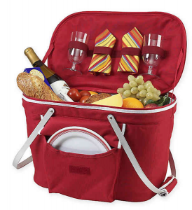 Celebrating Each Other: 1, 5, and 10-Year Anniversary Gifts For Your Spouse | Insulated Picnic Basket