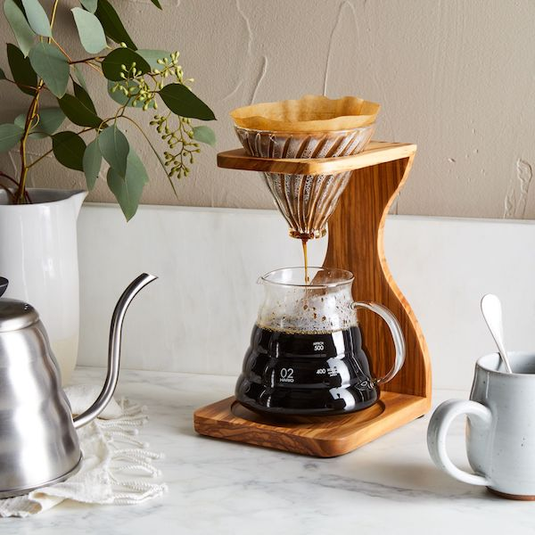 Every morning of your marriage starts with a cup of coffee, so why not take it to the next level for your five-year anniversary?