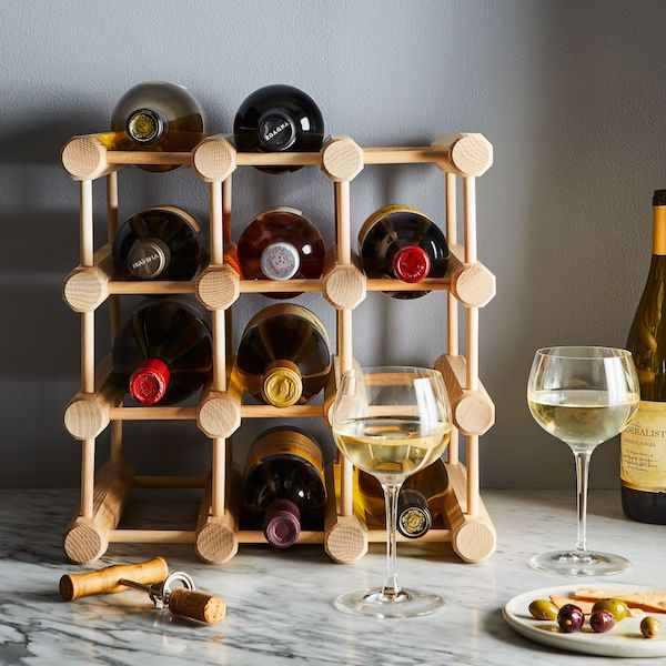 Celebrating Each Other: 1, 5, and 10-Year Anniversary Gifts For Your Spouse | 12-Bottle Wine Rack