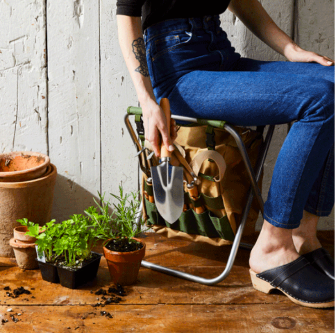 Celebrating Each Other: 1, 5, and 10-Year Anniversary Gifts For Your Spouse | Essential Garden Seat Tool Kit