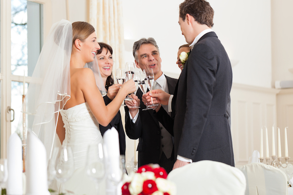 Congratulate the couple | Perfect wedding guest