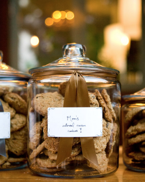 Honoring lost loved ones at wedding with a recipe