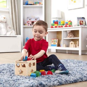 Gifts for a One Year Old | Melissa and Doug Shape Sorting Cube