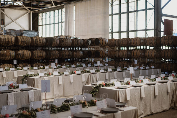 family-style tables for your wedding
