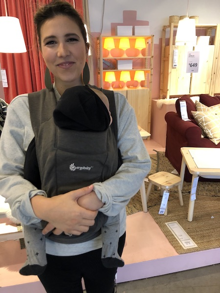 Newborn Carrier - ErgoBaby Embrace