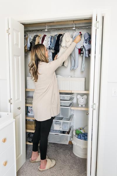 baby closet system