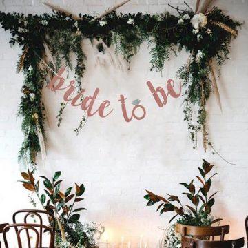 Bride to be banner   bridal shower banner   bridal shower decor etsy