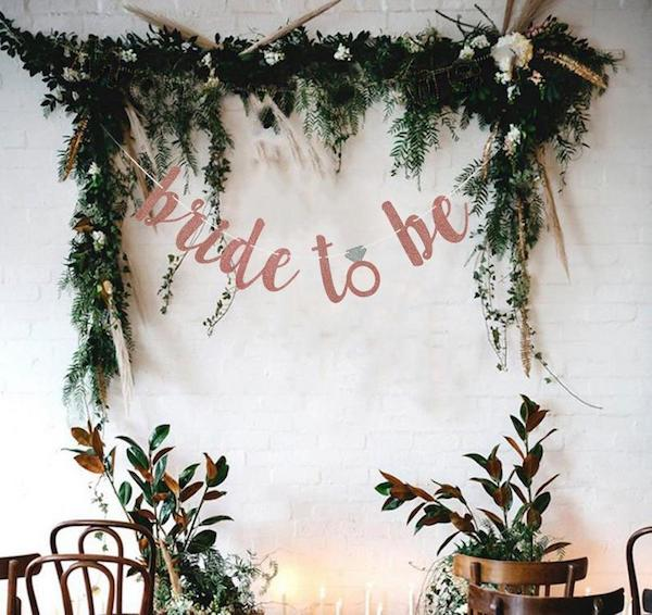Bride to be banner | bridal shower banner | bridal shower decor etsy