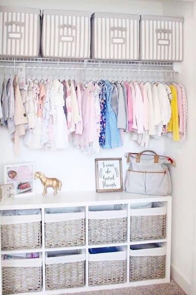 cube closet organizer