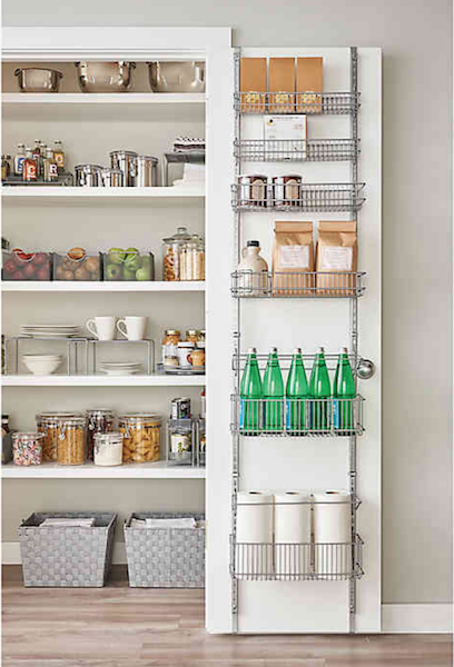 Top Products for Getting (and Staying) Organized | Over-the-Door Pantry System