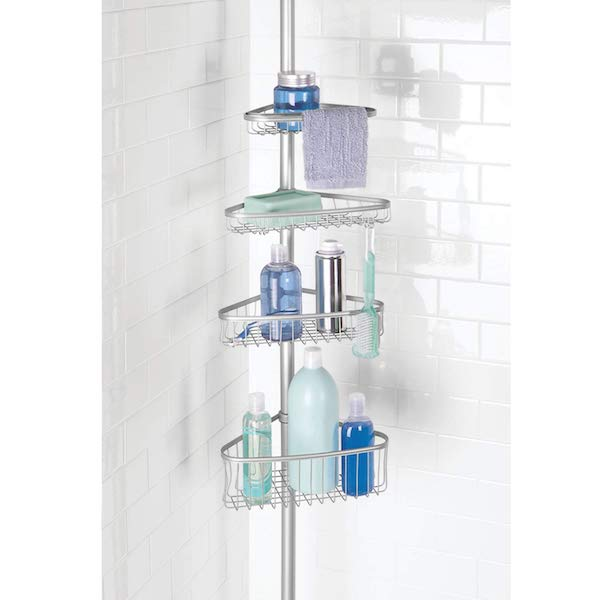 Spring Cleaning: Top Products for Getting (and Staying) Organized | Tension Shower Caddy