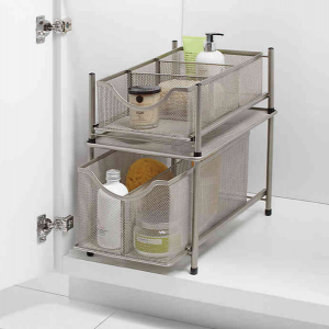 Top Products for Getting (and Staying) Organized| Mesh Slide-Out Drawers