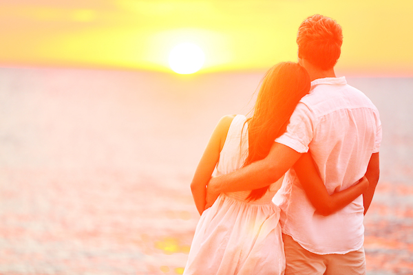 Honeymoon sunset | Waiting to honeymoon