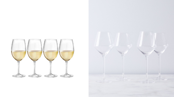 Wine Glasses | Save vs. Splurge: Your Wedding Registry