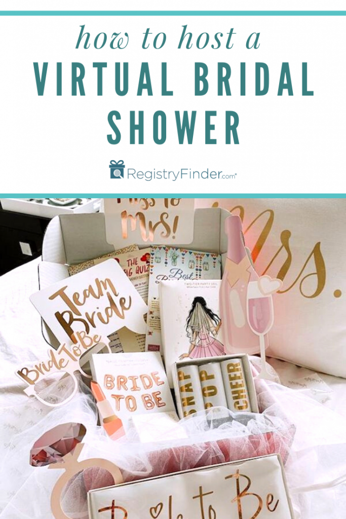 How to Host a Virtual Bridal Shower