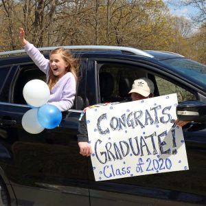 drive by graduation idea