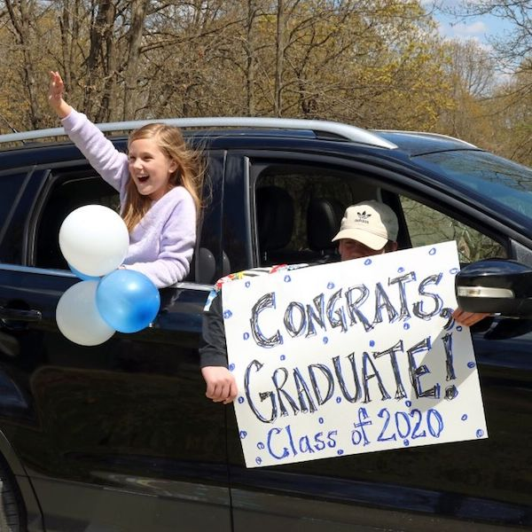 drive by graduation idea