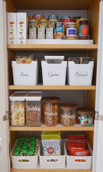 stock your pantry before baby arrives