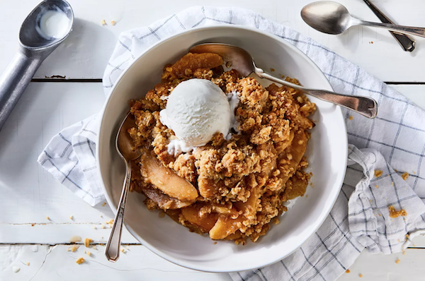 Apple Crisp for Mother's Day
