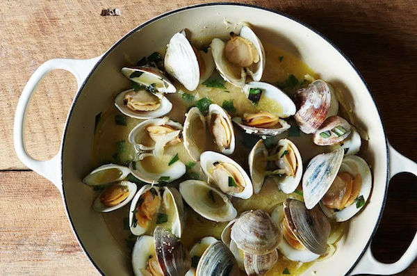 Mother's Day Clam (or Mussel) Boil Made Easy