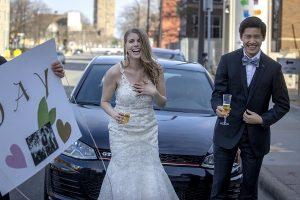 Drive-In Wedding
