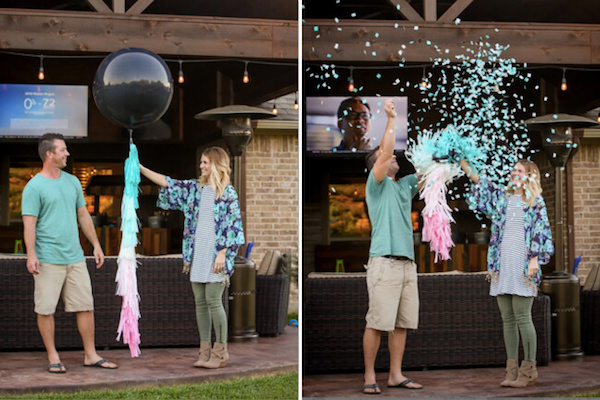 Pop the Balloon Gender Reveal