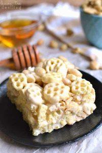 Honeycomb marshmallow treats