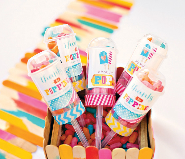popsicle favors