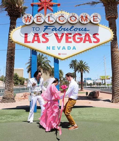 Vegas wedding