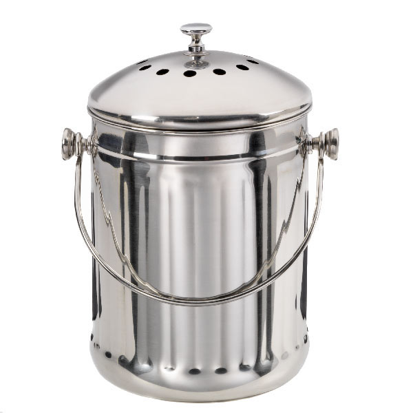 Sustainable Wedding Registry Gifts for the Eco-Conscious Couple | Stainless Steel Compost Pail