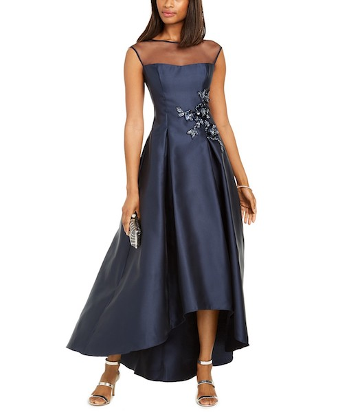 high-low hem Mother of the Bride or Groom dress
