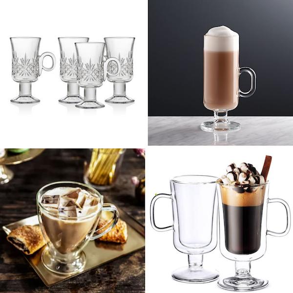 Drinking Glasses Decoded   Irish Coffee Mug