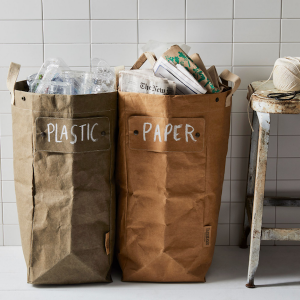 Sustainable Wedding Registry Gifts for the Eco-Conscious Couple | Modular Snap & Separate Recycling Bags