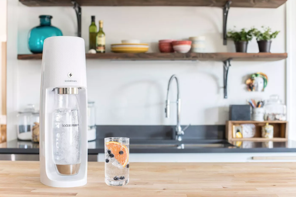 Sustainable Wedding Registry Gifts for the Eco-Conscious Couple | SodaStream Fizzi One Touch Sparkling Water Maker