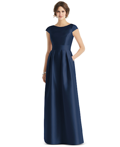 sleek maxi silhouette
