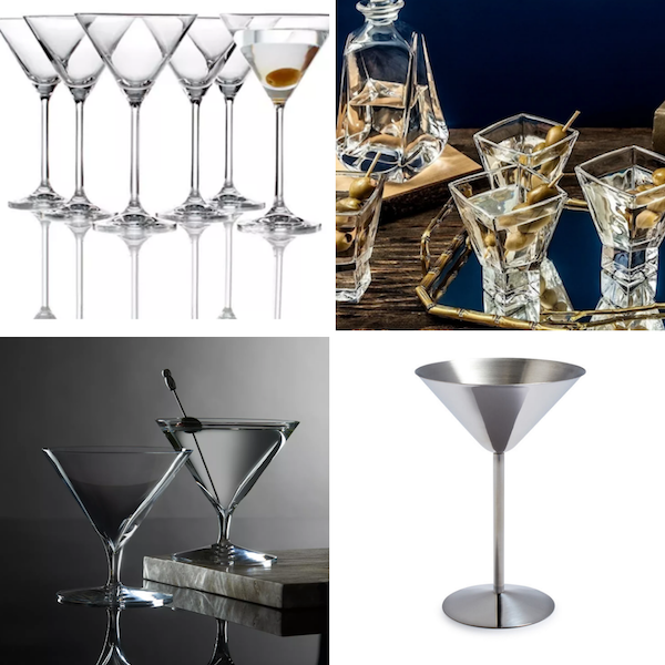 Drinking Glasses Decoded | Martini Glass