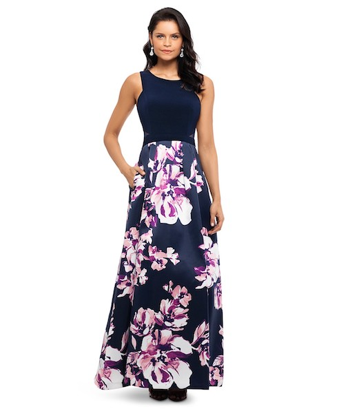 Mother of the Bride floral gown