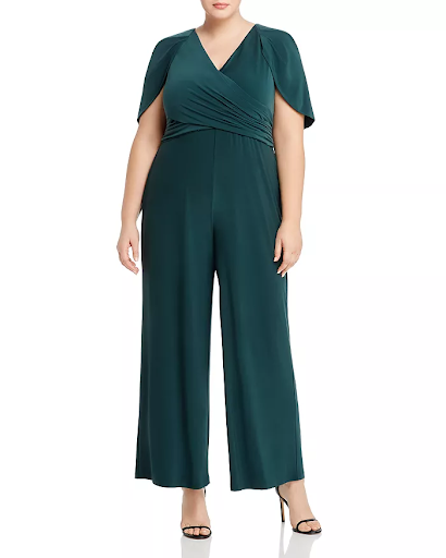 green pantsuit