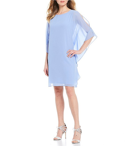 light blue split sleeves MOB or MOG dress