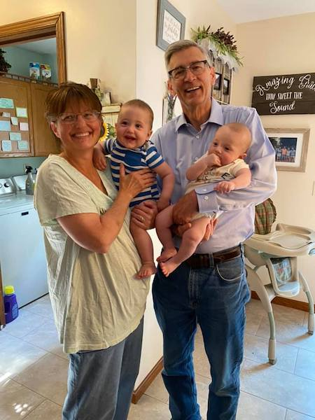 In-laws and grandchild