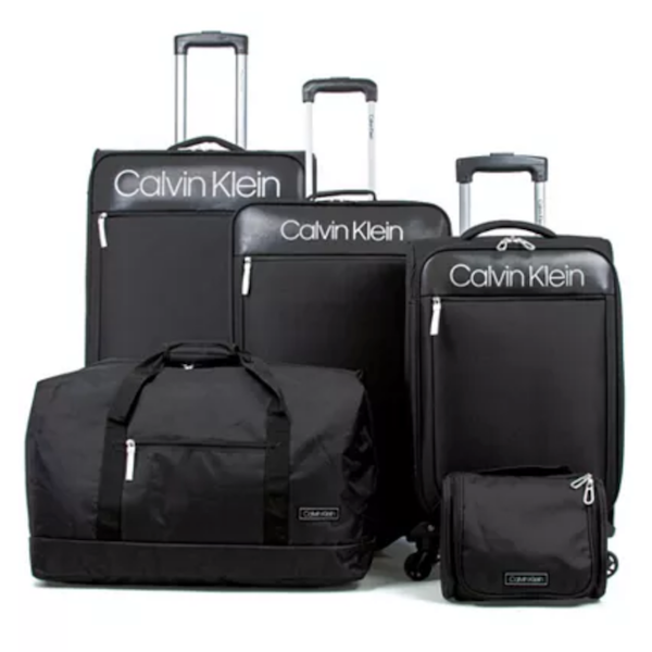 Unique Wedding Gifts for Older Couples | Calvin Klein 5-Piece Luggage Set