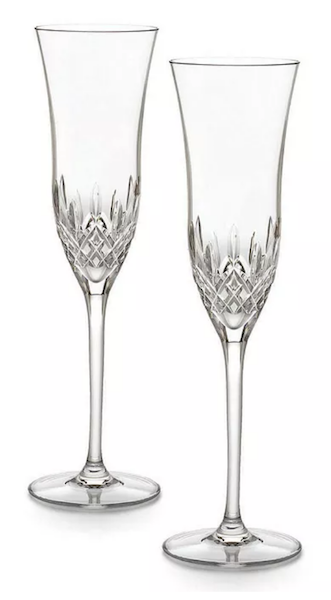 15 Unique Wedding Gifts for Older Couples | Waterford Champagne Flutes
