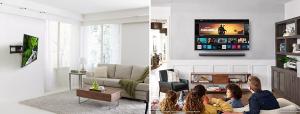 Flatscreen TV & Wall Mount