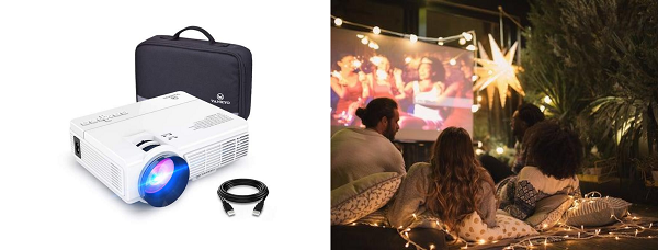 Everything You Need for the Perfect Movie Night In | Mini Projector