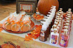 fall baby shower guest gifts