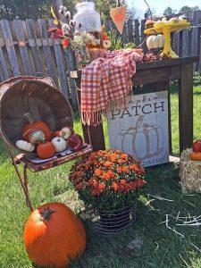 Cutest Pumpkin Baby Shower | Flower Decor