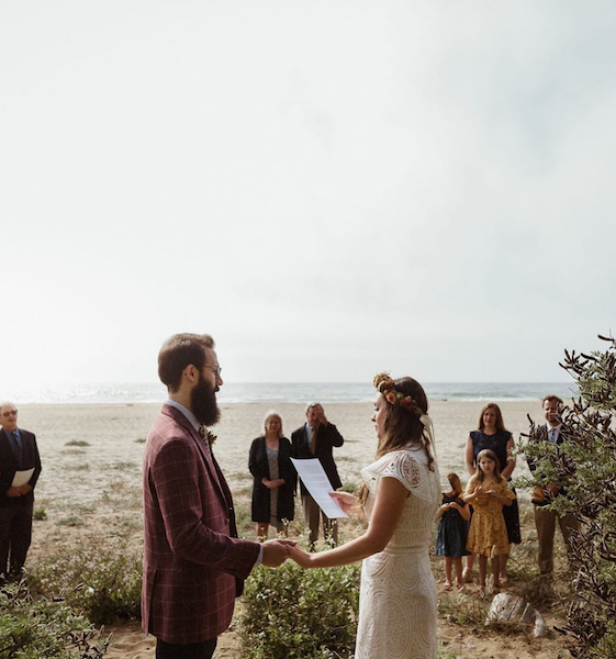 """Your minimony doesn't have to have all the bells and whistles of a """"normal"""" wedding ceremony — in fact, some of the simplest are also the most beautiful."""