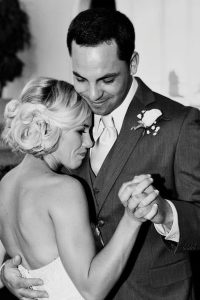 Older brother dancing with bride
