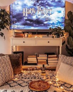 Movie night - date night at home